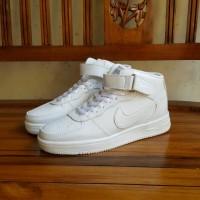 Sepatu Nike Air Force One High Boot Putih Vietnam Cewek Cowok 36-40