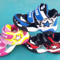 Sepatu lampu nyala anak CONVERSE basket sport LIGHT SHOES children LED