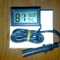 Higrothermometer Digital dengan Probe Sensor