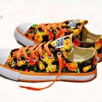sepatu converse motif woman BONUS kaos kaki (gratis) made in vietnam