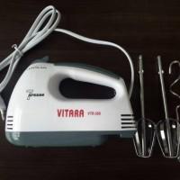 PROMO!!! hand mixer murah vitara dgn 7 pengaturan speed VTR-308