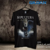 Kaos Sepultura kairos-AC380 Gildan Softstyle