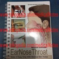 Buku Saku Kedokteran Medical Mini Notes THT (Ear Nose Throat)