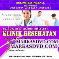 software aplikasi administrasi klinik kesehatan full versi termurah