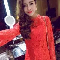 DRESS NATAL LENGAN PANJANG ONLINE 2015