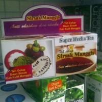 Jual Teh celup kulit manggis daun sirsak / Obat Herbal Murah