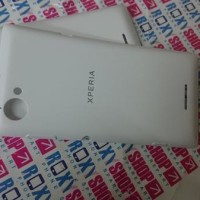 Back Casing Sony Xperia L C2105 Putih