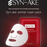 Secret Key Syn-Ake Wrinkle Mask-Pack Secretkey Syn Ake Mask 100% Ori