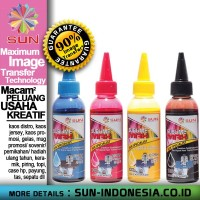 TINTA SUBLIM - SUN SUBLIME MAX INK 100 ml (Set 4 warna) EPSON