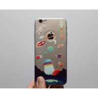 Space planet case iphone 5 5s 6 6s 5c