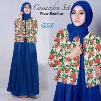 Gamis Wanita / Baju Muslim / Hijab Casandra benhur G-209