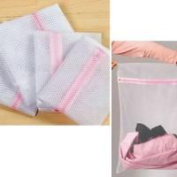 Washing Laundry bra underwear panties bag zipper travel organizer