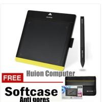harga HUION 680TF Free Sofcase Tokopedia.com