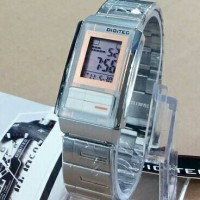 Jam Tangan Digitec DG 3022T Original rantai Silver