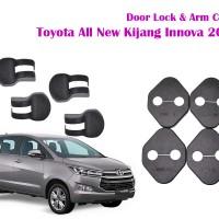Door Lock dan Arm Cover untuk Mobil Toyota All New Kijang Innova 2016
