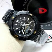 Jam Tangan NEO DIGITEC Rantai Dual Time / Jam Neo Digitec