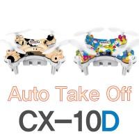 2016 Cheerson CX-10 upgrade CX-10D mini drone Height Hold auto takeoff