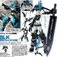 BLK Limited Edition Art Book with Black Rock Shooter BEAST Figma - GSC