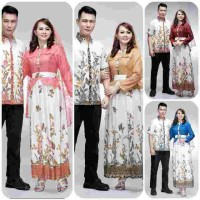 harga gamis batik couple | batik pasangan | long dress | kanaya Tokopedia.com