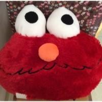 Bantal Muka Karakter Elmo Merah