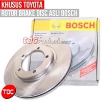 Bosch Brake Disc / Rotor Corona RT-100 F Toyota Piringan Rem Mobil