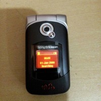HP Sony Ericsson W300I Walkman Black Normal Batangan