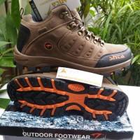 harga Sepatu SNTA 470B waterproof Brownorangen -sepatu gunung-hiking-outdoor Tokopedia.com