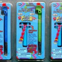 PERTAMA!! Heat Chaging Color Metal Hook Rainbow Loom Ganti Warna Band