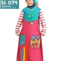 Gamis Anak Muslim Syamsakids SL 074