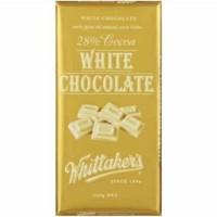 New Zealand Whittaker's White Chocolate Block Whittakers