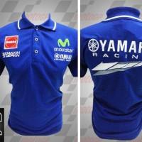harga Kaos Polo MotoGP Yamaha Movistar Biru(Kaos,Kemeja,Flanel,Baju,Polo) Tokopedia.com