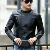 jaket semi kulit model cowok