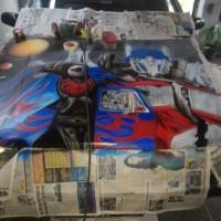jasa airbrush dan repaint mobil dan motor