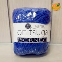 Benang Rajut Onitsuga Borneo Navy Blue 0679 (Biru Tua)