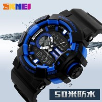 SKMEI Casio Men Sport LED Watch Water Resistant 50m - AD1117