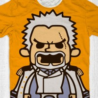Kaos Anime One Piece - Monkey D Garp Marine Admiral