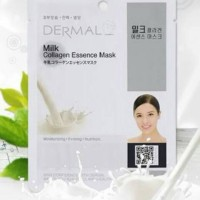 Masker Korea Dermal Milk Collagen Essence Mask