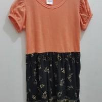 Dresss Circo Batik Orange