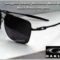 harga Kaca Mata / SunGlass Oakley Deviation Full Black Tokopedia.com