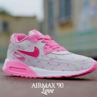 harga sepatu olahraga running jogging + senam wanita nike airmax 90 Tokopedia.com