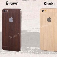 IPHONE 5 5G 5S Wooden Protector Layercase Back,Side And Face