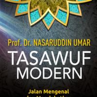 Tasawuf Modern-Nasaruddin Umar Prof. Dr.