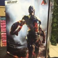 Avengers Captain America Play Arts Kai