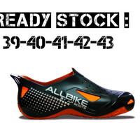 harga ap boots orange all bike oranye sepatu sepeda motor / gowes allbike Tokopedia.com