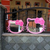 Cermin Hello Kitty Polkadot hk03