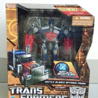 Transformers HftD Voyager Class Battle Blades Optimus Prime