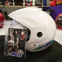 harga helm LTD Sport putih susu original Tokopedia.com