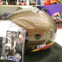 harga helm LTD Sport coklat original Tokopedia.com