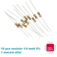 220 Ohm 1//4 Watt Universal Resistor 100 each