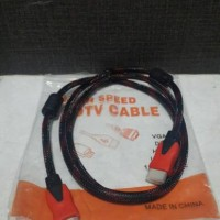 KABEL HDMI TO HDMI SERAT JARING 1.5M